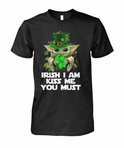 Irish I Am Baby Yoda T SHirt
