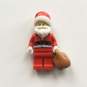 Image is loading LEGO-Santa-Claus-minifigure-Father-Christmas-figure-amp- 65e637cfb