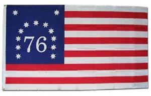 3x5-Bennington-76-1776-Premium-Quality-Fade-Resist-Flag-3-039-x5-039-Banner-Grommets