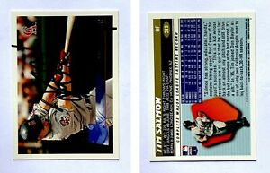 Tim-Salmon-Signed-1996-Topps-319-Card-California-Angels-Auto-Autograph