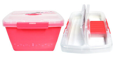 Bobbin Case Plastic - Plastic Bobbin Storage Boxes Ultima Bobbin Holder