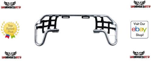Arctic Cat DVX 400 2004–08 Tusk Comp Series Nerf Bars Silver//Black Webbing Fits