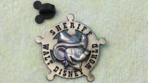 Disney-Sheriff-Mickey-Mouse-Brass-Star-Pin