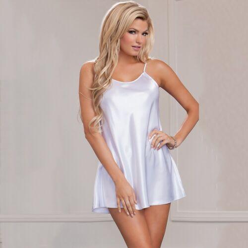 Chemise Sleepwear Robe Satin  Lingerie Thong Women Silk Lot Dress Nightgown Lace