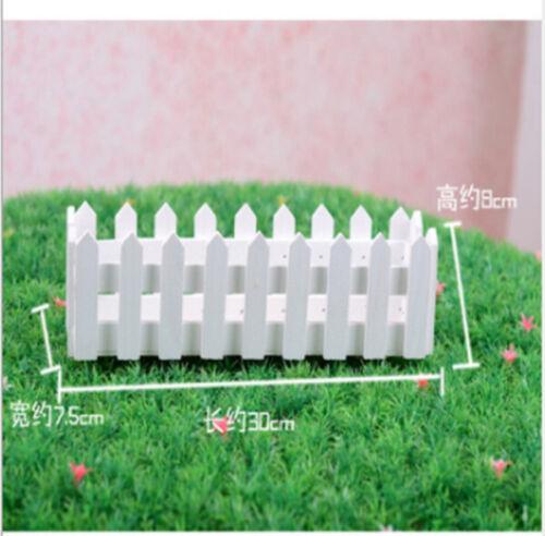 Wooden Flower Pot Fence Hanging Garden Basket Planter Plant Boxes Home Decor New