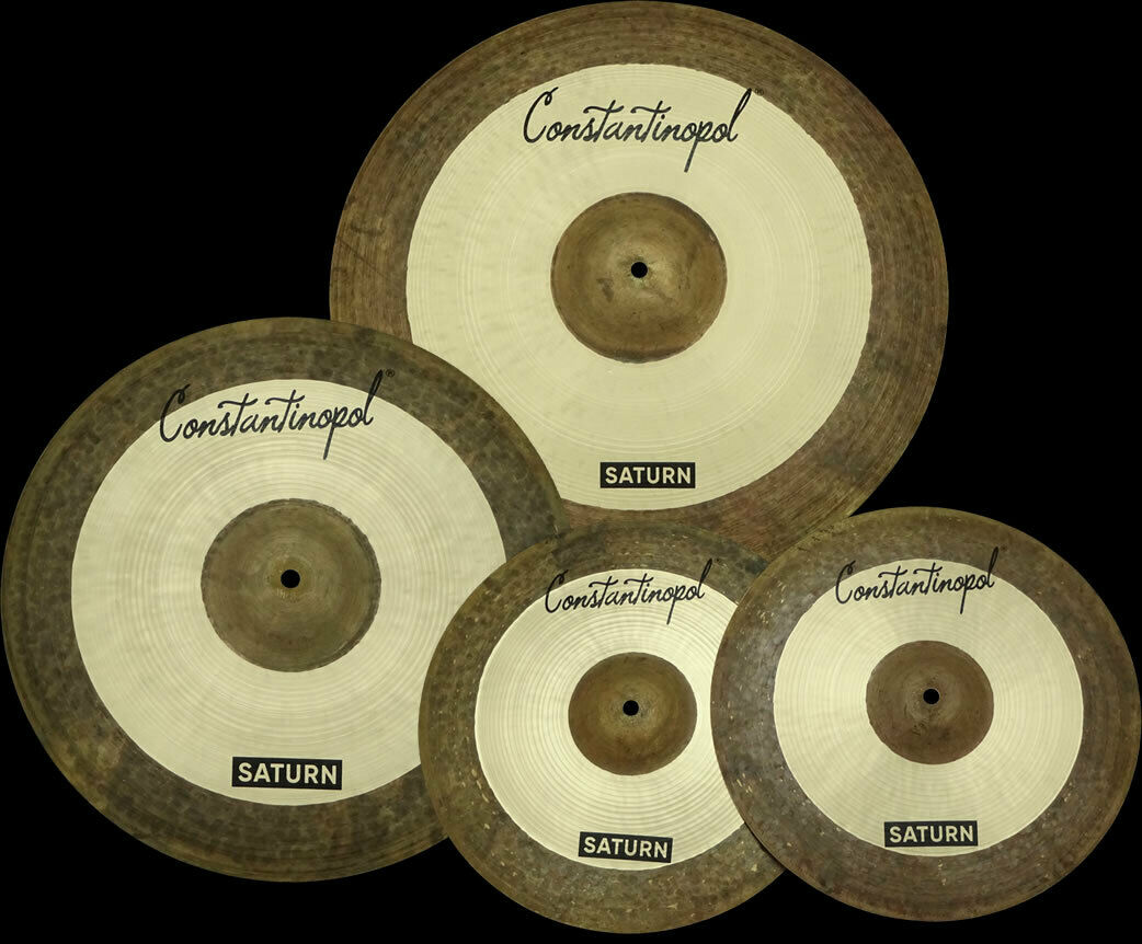 Constantinopol SATURN Becken-Set 20 16 14 - B20 Bronze- Handmade Turkish Cymbals