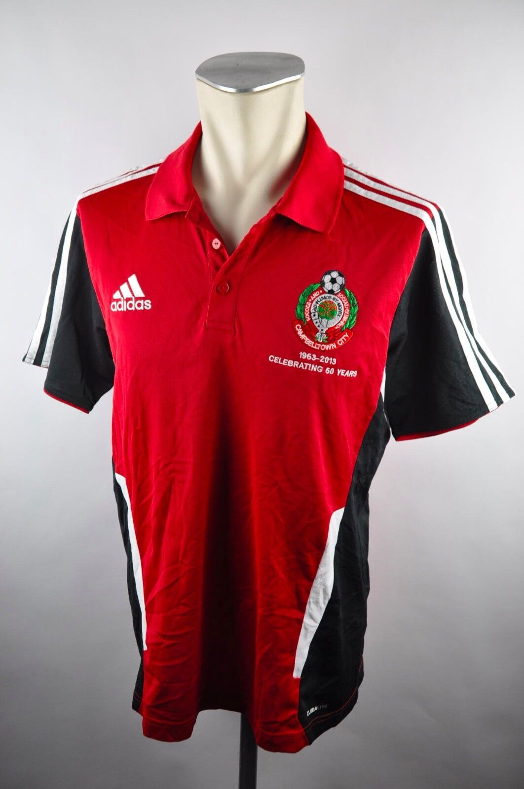 1963 2013 years 50 2012 Adidas M Gr. Polo City Campbelltown