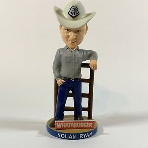 Nolan Ryan Round Rock Express 2018 SGA Whataburger Rancher Bobblehead ONLY 2,500