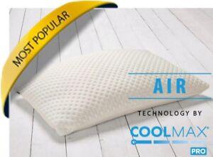 Cuscino Memory Foam Permaflex.Coolmax Pillows Memory Foam Pillow Nasa Visco Elastic Technology Mfplx 0107 Ebay