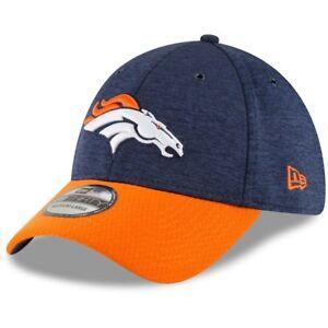 076be5a2fdf New Era Navy Orange Denver Broncos Sideline Home Official 39THIRTY ...