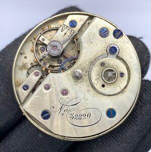 Unknown-38820-Main-Manuel-Vintage-32-8-mm-Pas-Marche-pour-Parts-Pocket-Montre