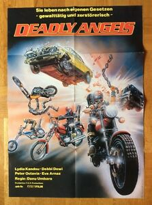 Deadly-Angels-Kinoplakat-039-83-Lydia-Kandou-Debbi-Dewi-Motorraeder