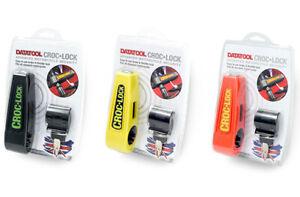 MOTORCYCLE DATATOOL Croc-Lock Grip lock HANDLEBAR LEVER SECURITY