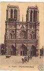 75 - cpa - PARIS - L'église Notre Dame