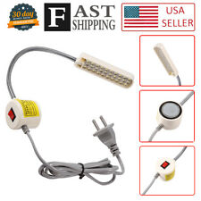30 LED Sewing Machine Light  US PLUG Gooseneck Working Lamp With Magnetic Base