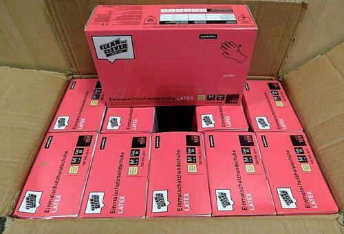 M XXL 1000er Paket Clean and Clever Smart Line Einmalschutzhandschuhe Gr