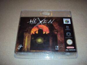 Hexen - Jeu Nintendo N64 neuf sous blister rigide! NEW Sealed!