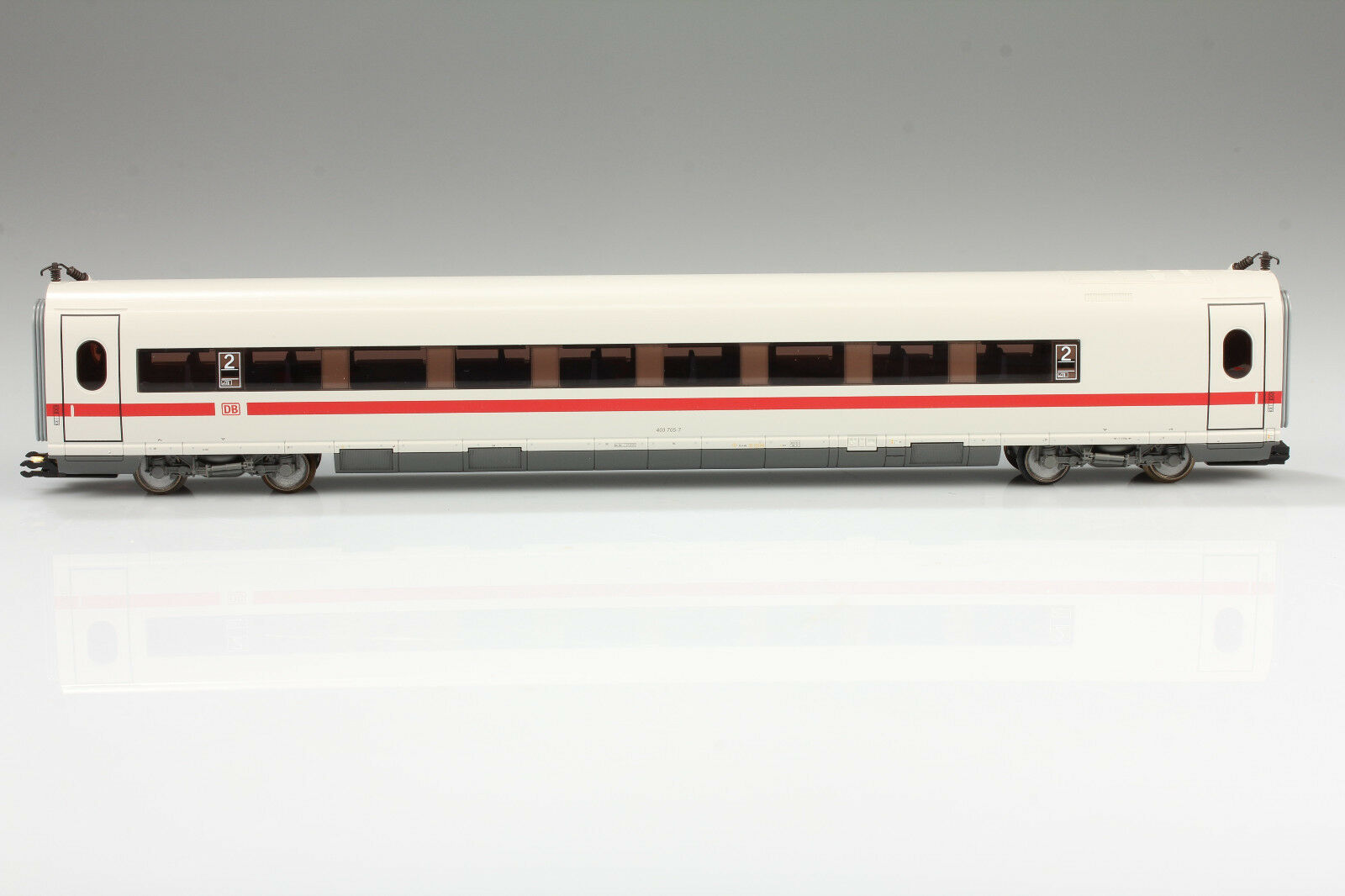 H0 Trix 23397 Ice Centre Wagon 403 705-7 Very Good Condition Ob