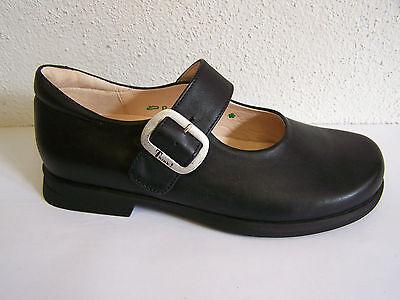 Think! Schuh Modell Pensa schwarzer Schnallenschuh incl. THINK! Papiertüte