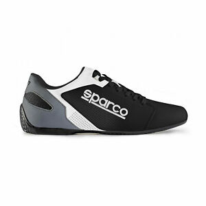 Sparco-Sneaker-SL-17-Schwarz-Weiss-45-aus-DE