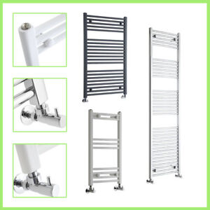 Curved-and-Flat-Heated-Towel-Rail-Radiator-Bathroom-Central-Heating-Ladder-Rad