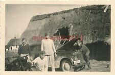 8 x Foto, 6. Inf.-Div. FP.Nr.30313, Quartier in Alexandrowo 1941 (W)1514