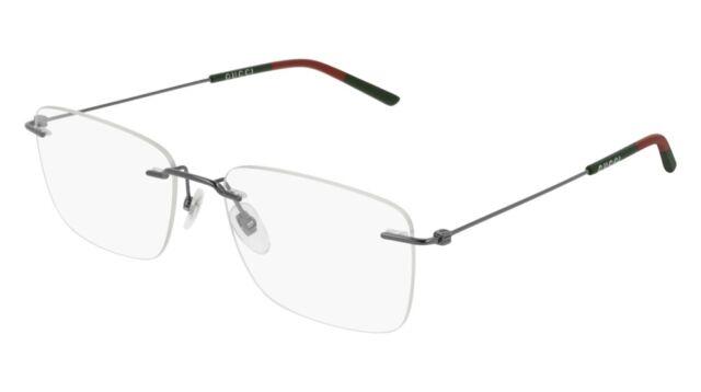 69d0ccc6b3d Gucci Urban GG 0399o Eyeglasses 001 Ruthenium 100 Authentic for sale ...