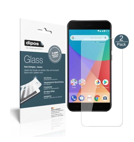 2x Xiaomi im a1 lámina protectora-tanques diapositiva 9h lámina dipos Glass vidrio plástico