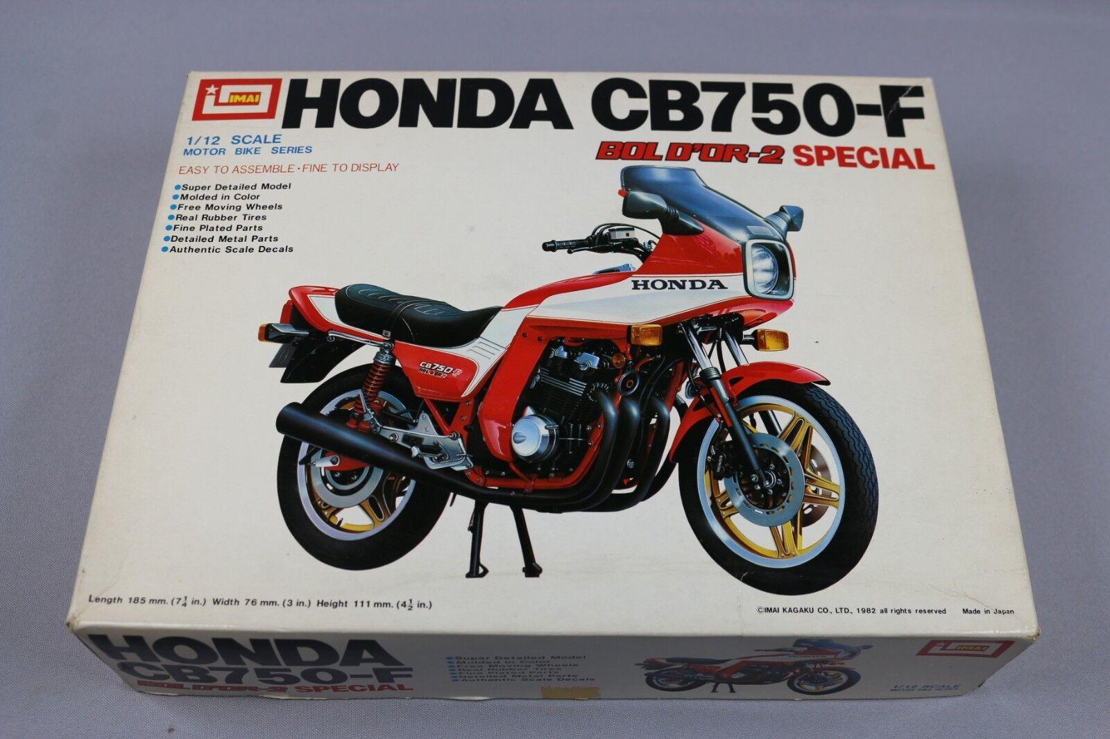 ZF1035 Imai 1 12 maquette B-1103 Honda CB750-F Bol d'Or-2 Special Motorbike
