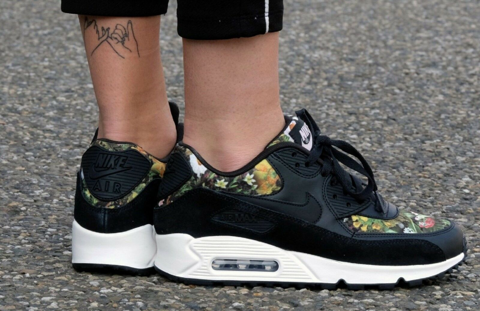 sweden nike air max 90 zapatos para mujer de comodidad de de estilo de vida  estampado cd96b745e175e