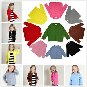 f510d29c3 Ins Hot Newest Baby Kids Girls Kids Cotton Knitting Sweater Coat ...