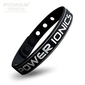 Power-Ionics-Classic-Titanium-2000Ions-Wristband-Bracelet-Balance-Color-U-Pick