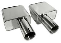 70-72 Corvette Exhaust Extensions Stainless Steel X2002