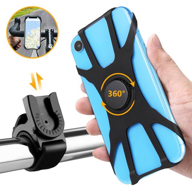360 Degree Universal Bike Phone Holder Cycling Handlebar Bicycle Mount Rotating