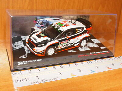 FORD FIESTA RS WRC RALLY FRANCE ALSACE 2011 HIRVONEN DeAGOSTINI IXO 1//43