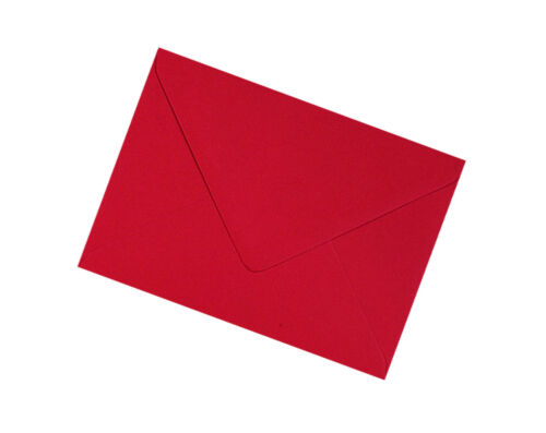 All Quantities C7 Scarlet Red Envelopes 100gsm