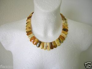 Fossilien Butterscotch Bernstein Bernstein Kette,collier 42,5 G Genuine Amber Necklace