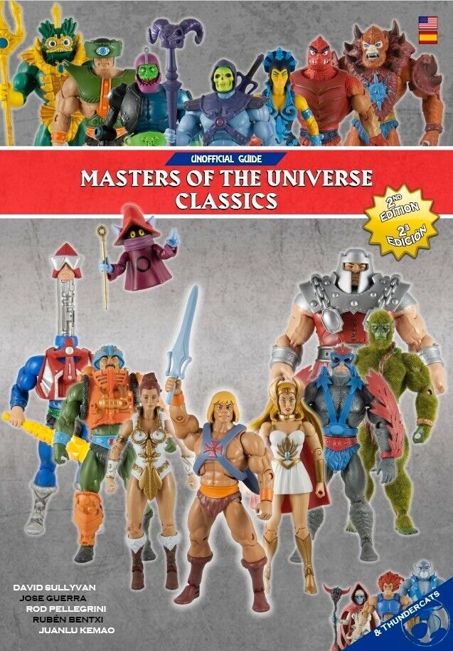 Unofficial Masters Of The The The Universe Classics Guide Book fea139