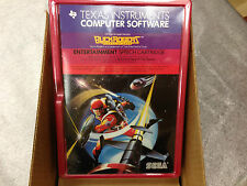 BUCK ROGERS video game Texas Instruments TI 99/4a Computer - NEW FRESH CASE -NIB