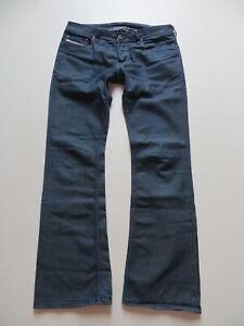 Diesel-ZATHAN-wash-008LG-Bootcut-Jeans-Hose-W-32-L-34-Indigo-summer-Denim