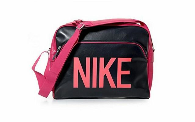 029243d847 Nike Heritage Track Messenger Bag - Laptop Black and Fuchsia for ...