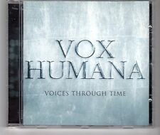 (HG656) Vox Humana, Voices Through Time - 1998 CD