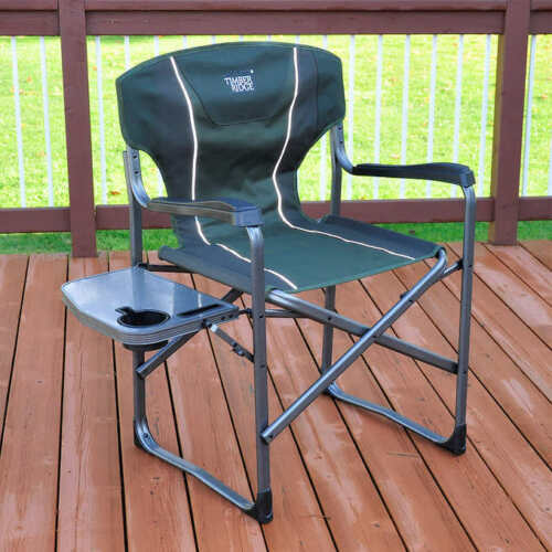 Timber Ridge Director/'s Chair with Side Table NEW!