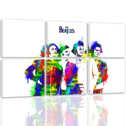MODERN HD ART Mehrfarbig Beatles 2494 54 Varianten TOP LEINWAND BILD BILDER