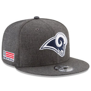 save off 9eeb6 de4ea Image is loading Los-Angeles-Rams-New-Era-9Fifty-Crafted-In-