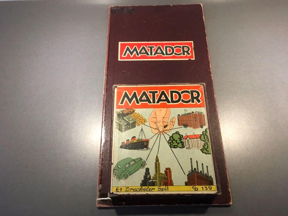 Matador, Gammelt familiespil, brætspil