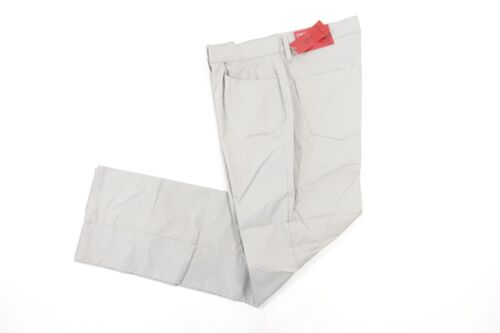 Cheap ALFANI LIGHT GRAY 30X30 CLOTH JEANS STYLE STRETCH SLIM FIT PANTS MENS NWT NEW free shipping