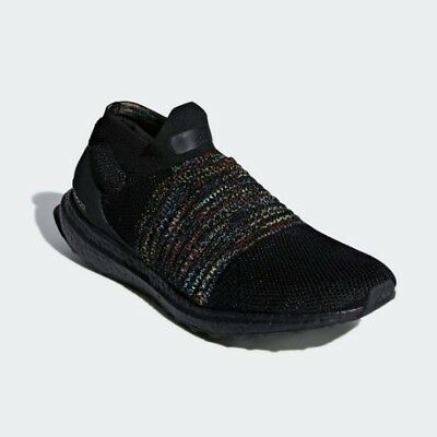 New Adidas Men's Ultraboost Laceless Running Shoes Sneakers Black(B37685) | eBay