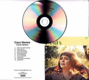 COCO-HAMES-Coco-Hames-2017-UK-10-track-promo-test-CD-THE-ETTES
