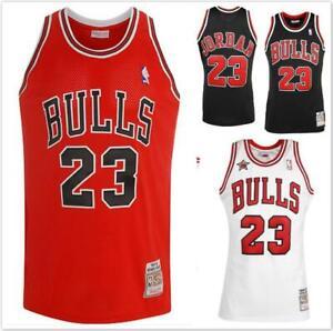 NBA-Jersey-Shirt-Chicago-Bulls-Michael-Jordan-No23-Black-White-Red